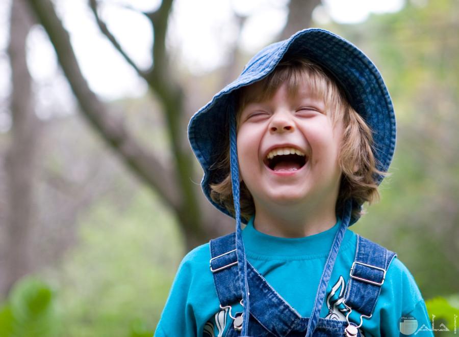 ضحكة جميلة