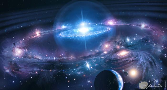 الفضاء الخارجي المبهر