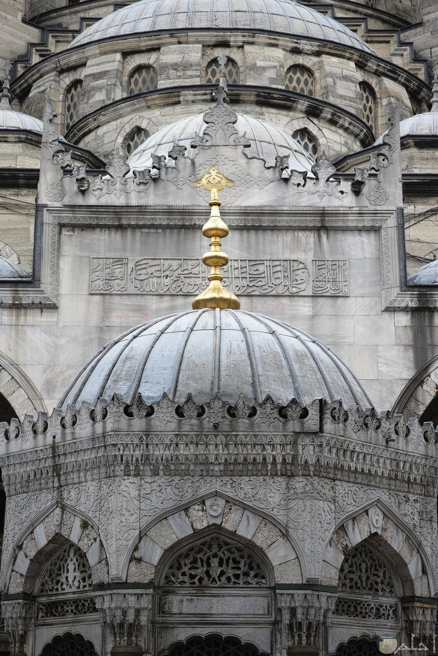 صورة مسجد ابيض واسود