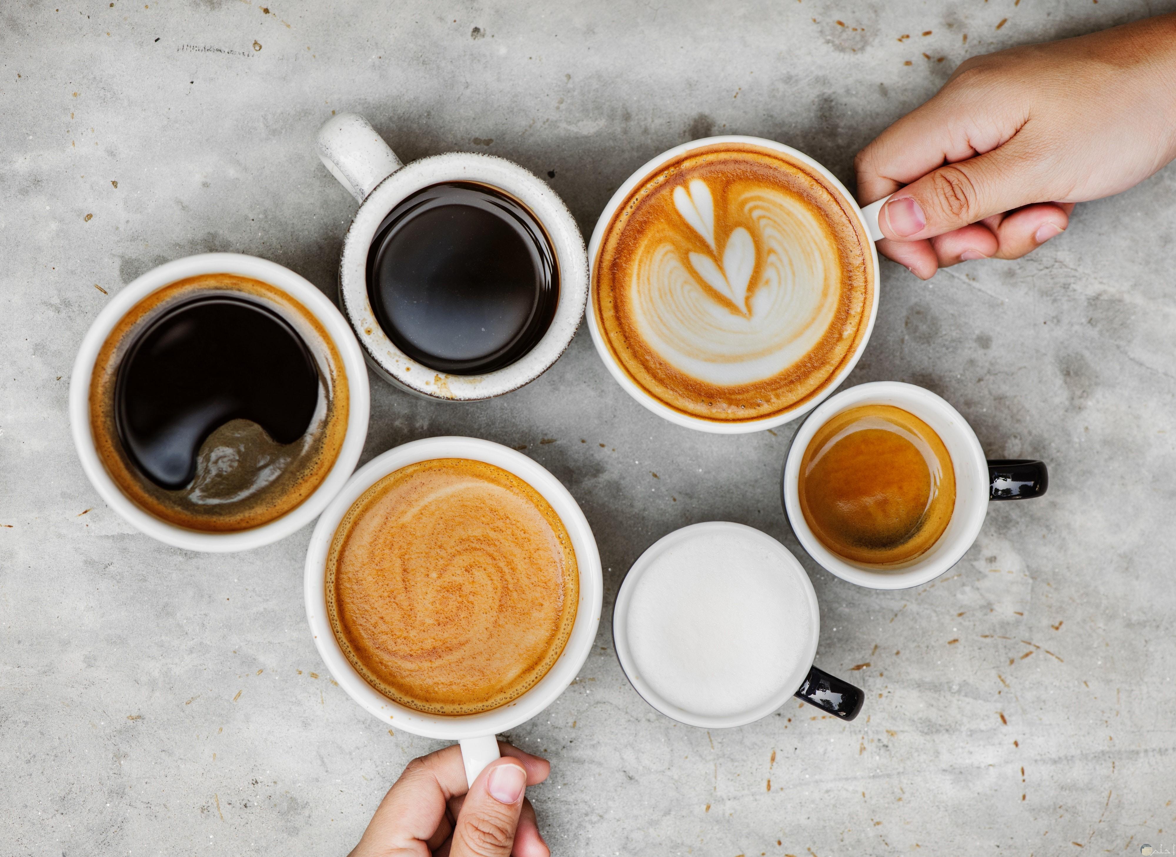صور ترحيبية مع القهوة في الصباح