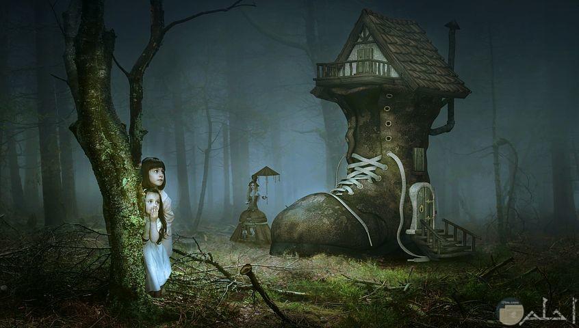 صور خرافية مدهشة لمنزل على شكل حذاء