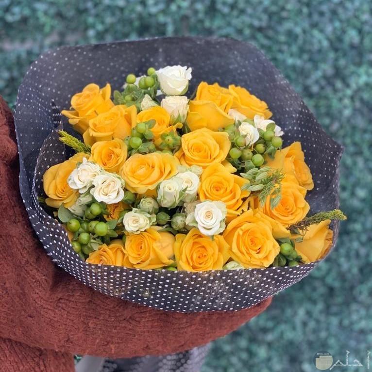 بوكية من الورود