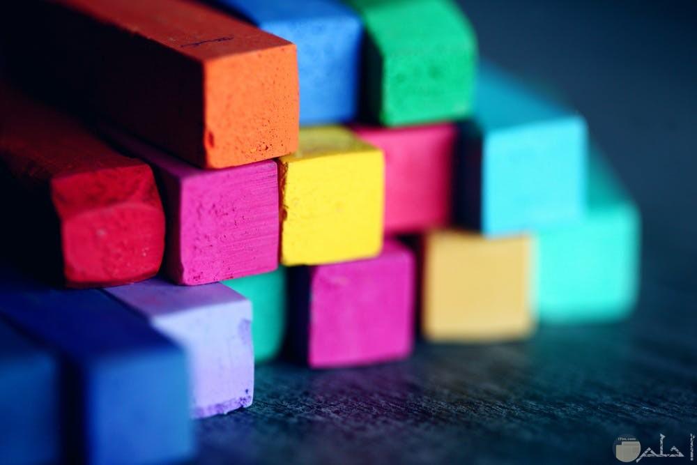 صور ألوان على شكل مستطيل