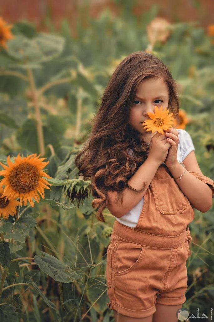صور دلع البنوتة مع الزهور