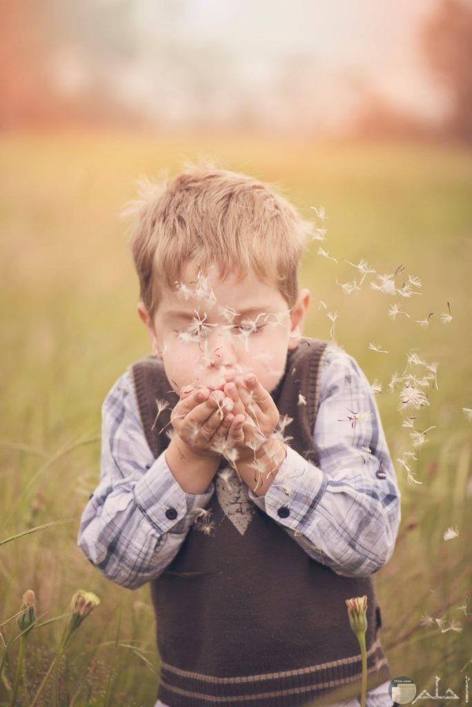 براءة الأطفال في الطبيعة