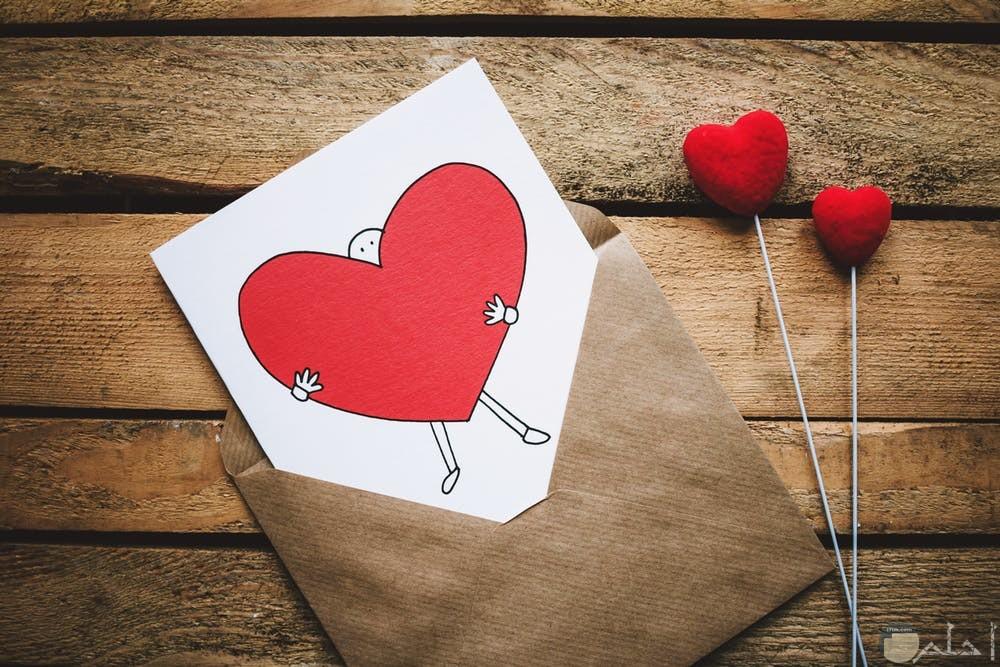 صور رمزية عن ارسال كارت حب للمحبوب