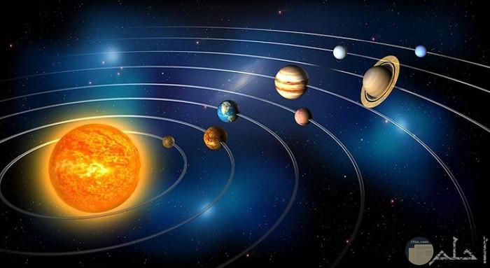 الكواكب الشمس