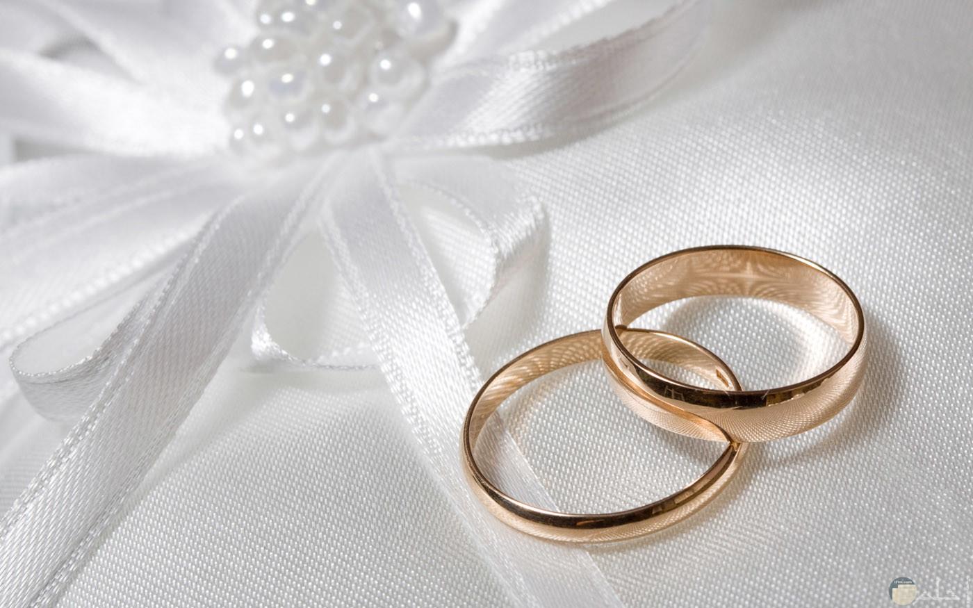 خاتم الزواج رمز كتب الكتاب