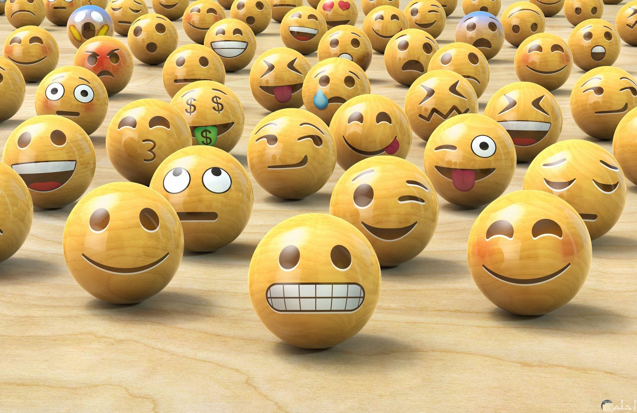 ايموشنز متنوعة تعبر عن مشاعر مختلفة
