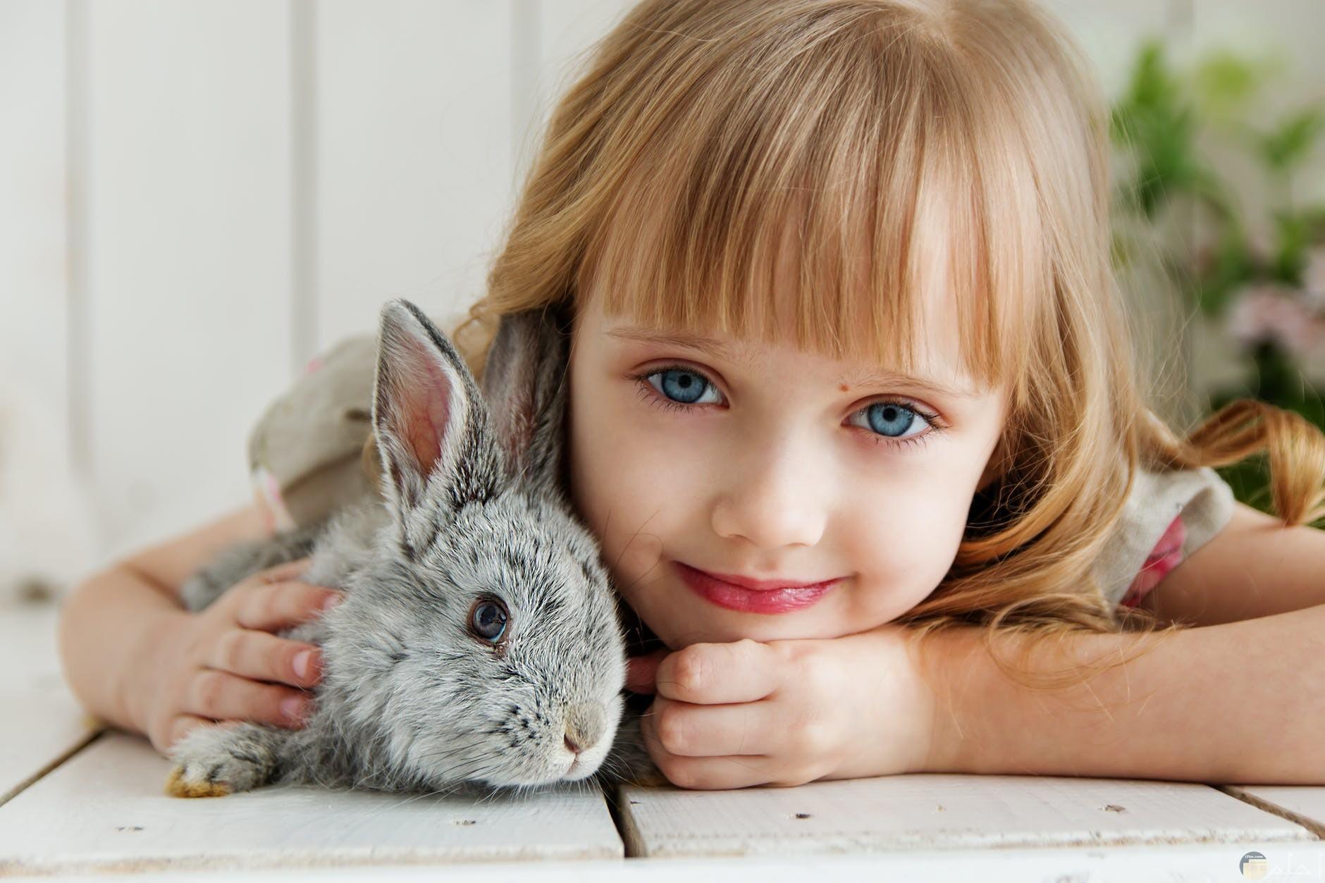 صور بنوتة جميلة مع أرنوب