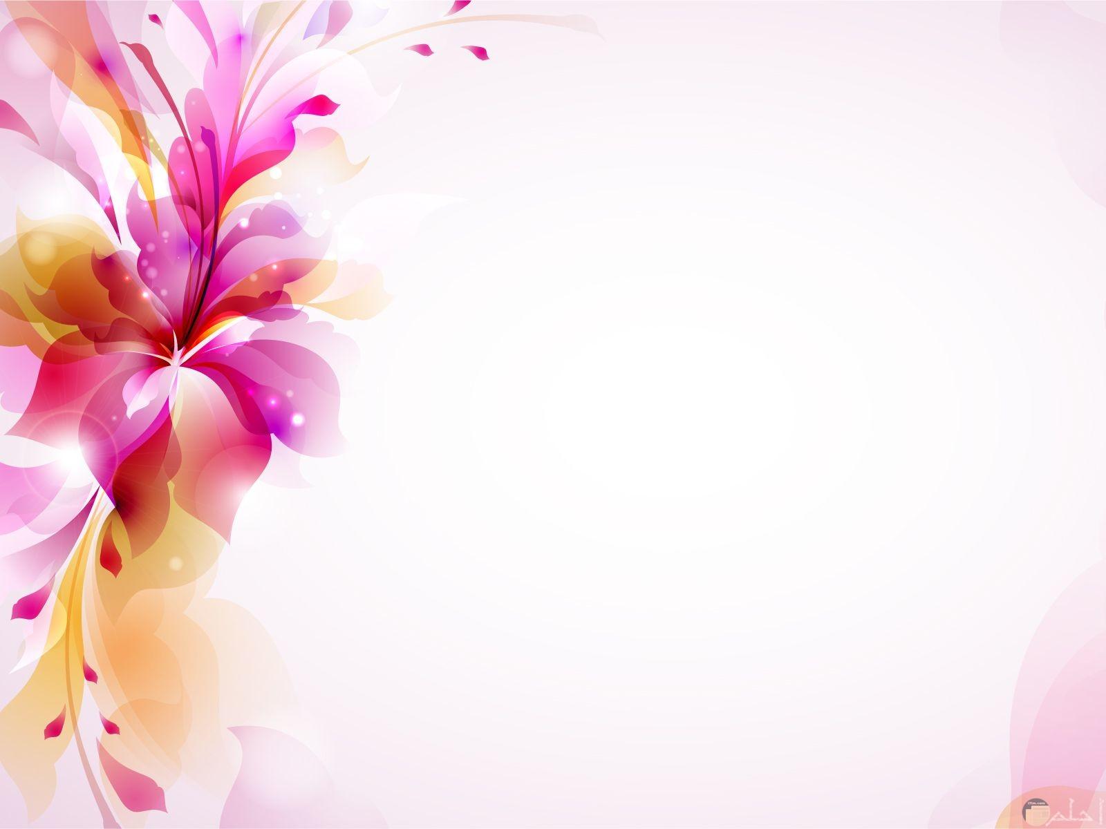 خلفية من الورد رومانسية