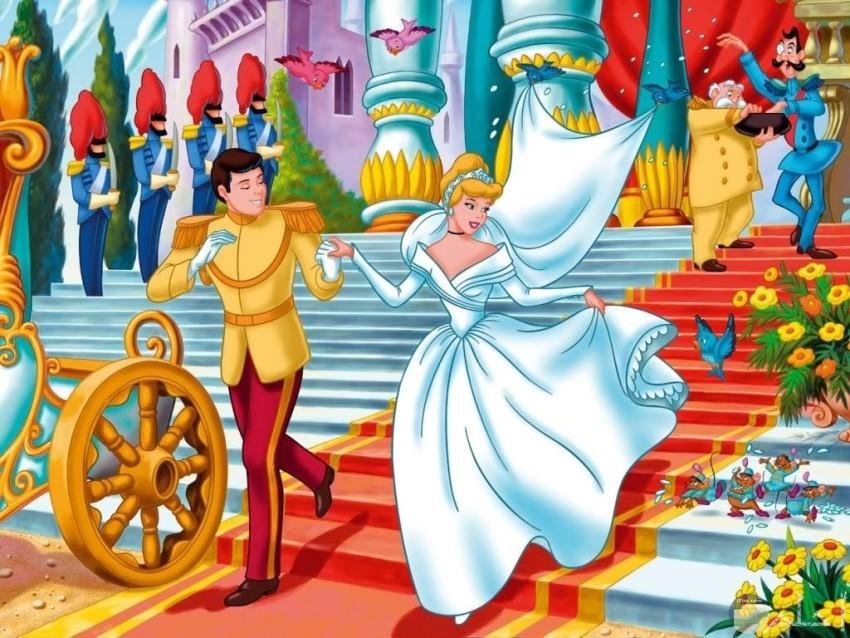 زفاف سندريلا والأمير