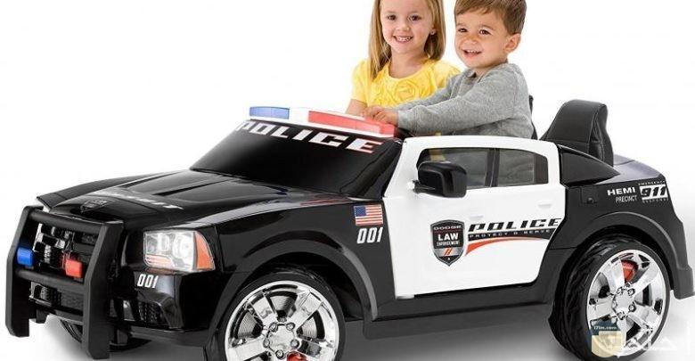 سيارة بوليس للأطفال