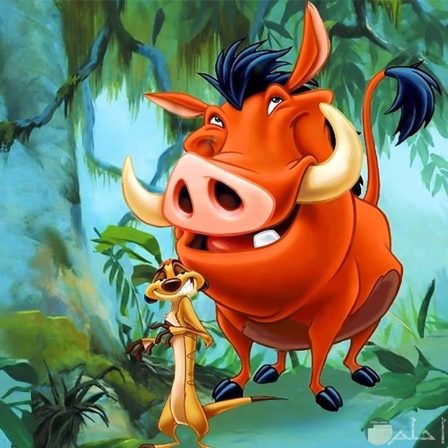 صورة الخنزير بمبة