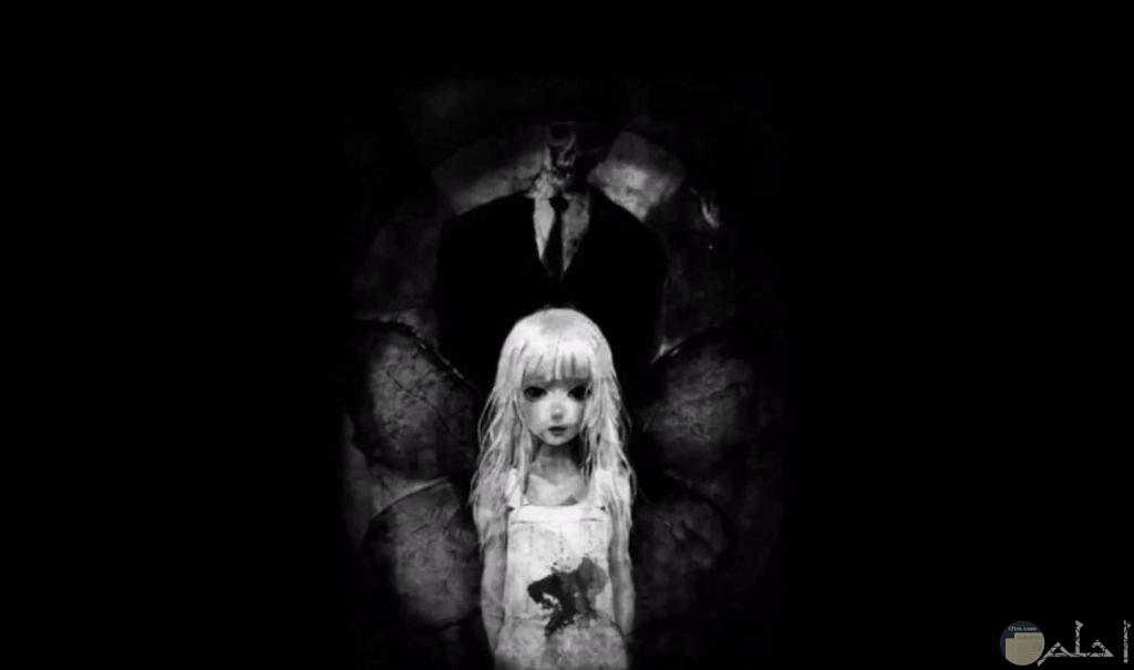 صورة تجمع بين الخوف والرعب و الحزن
