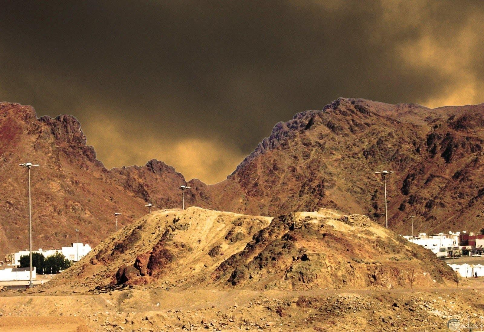 جبل أحد بالمدينة المنورة