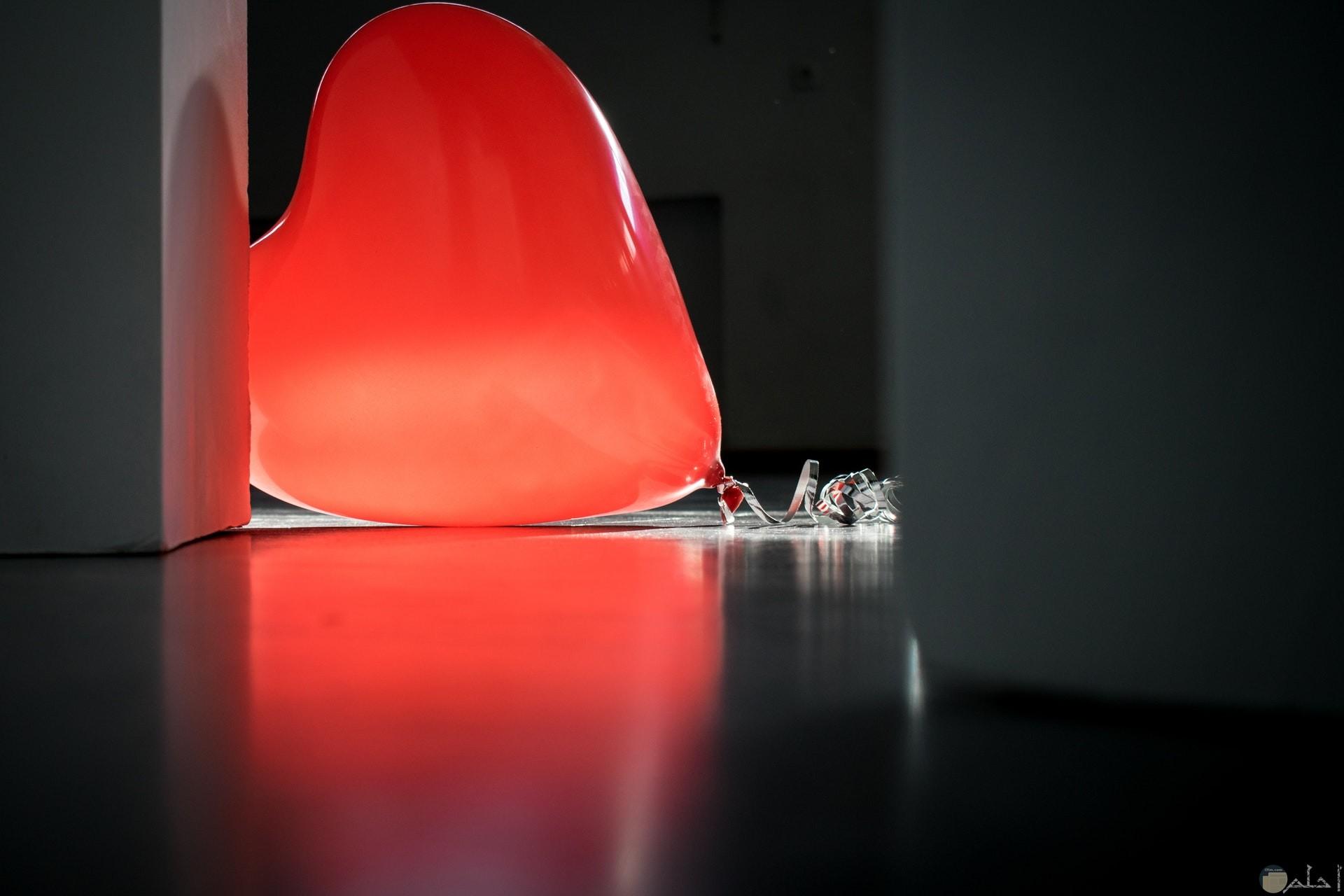 صورة جميلة جدا لقلب علي شكل بالونة حمراء حلوة