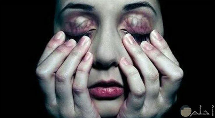 صورة حزينة مرعبة