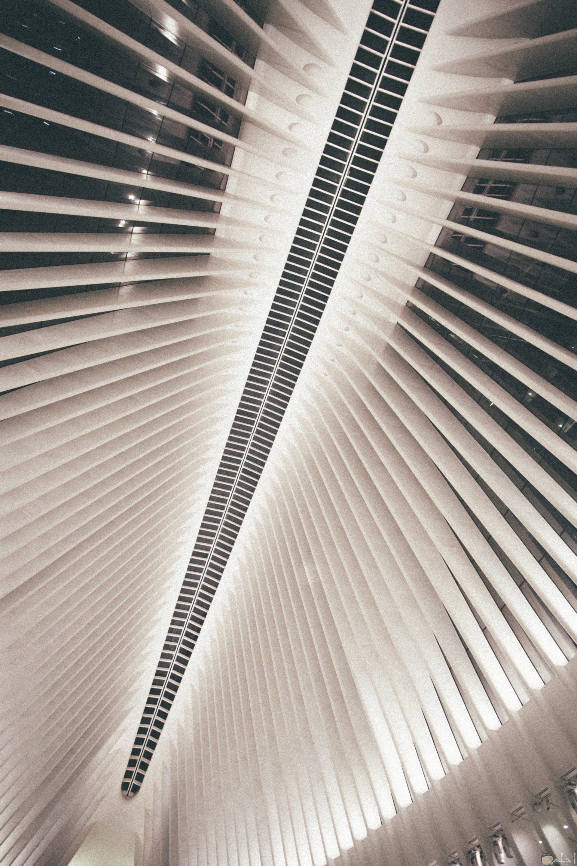 صورة غريبة جدا لتصميم سقف أحد الأبنيه مميز جدا