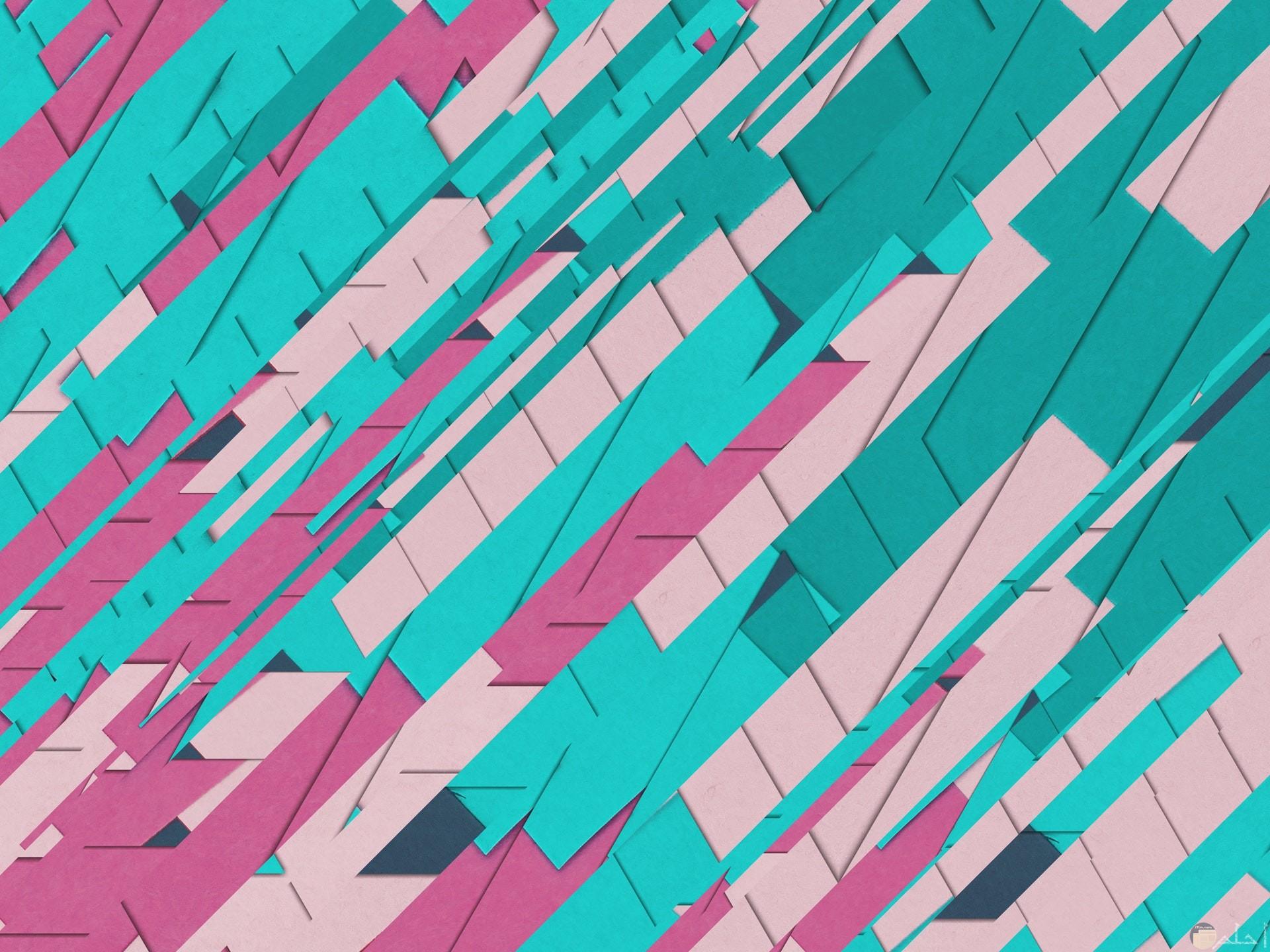 صورة غريبة كيوت لشيء عجيب باللون اللبني والوردي