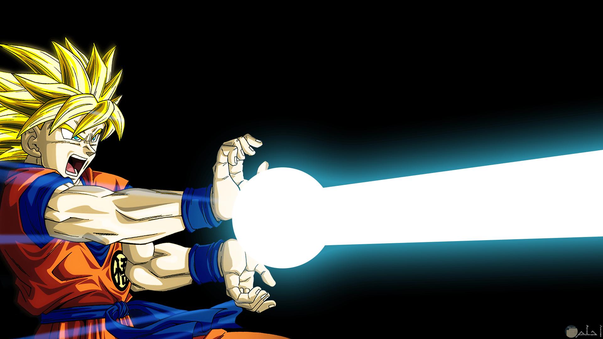 صور دراغون بول وهو يسلط الضوء من بدة