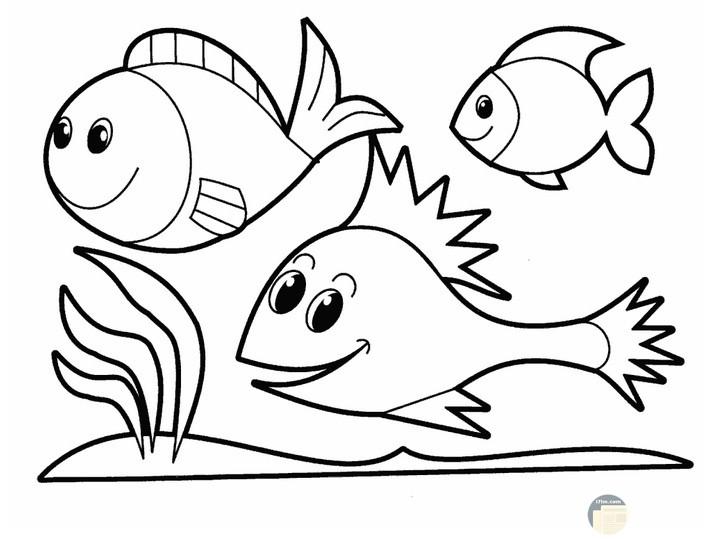 تلوين أسماك