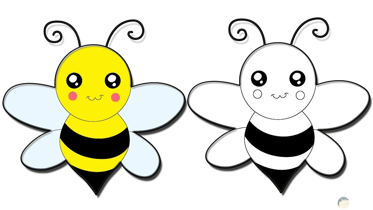 تلوين نحلة