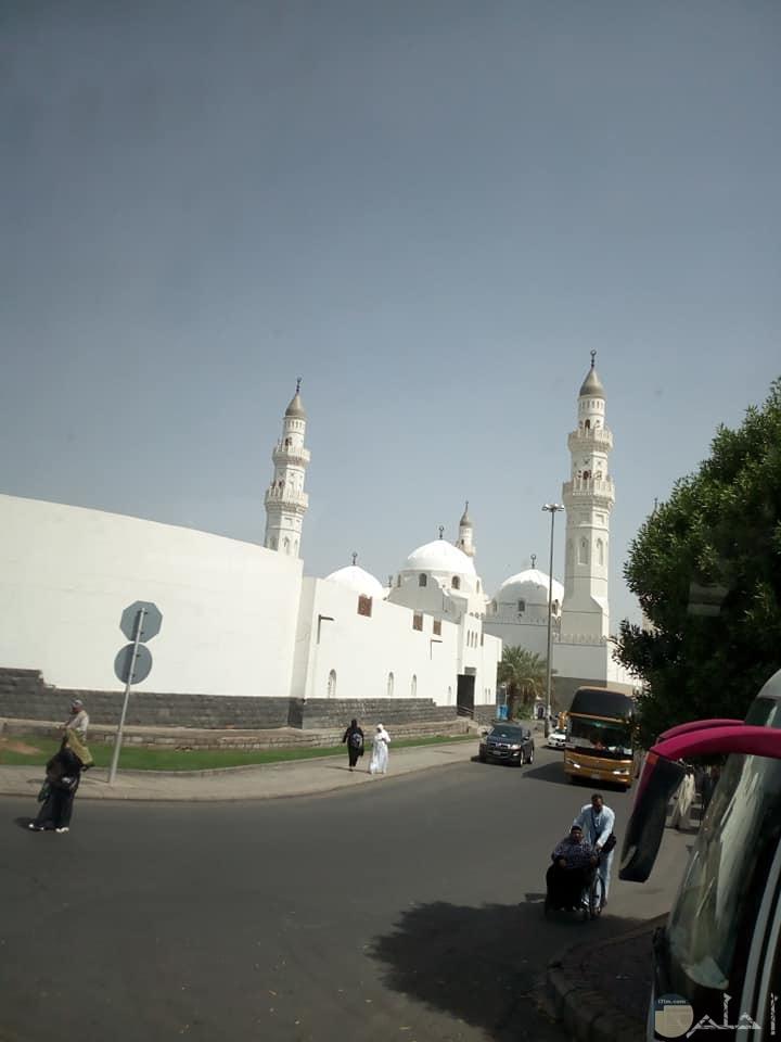 صورة لمسجد القبلتين في السعودية