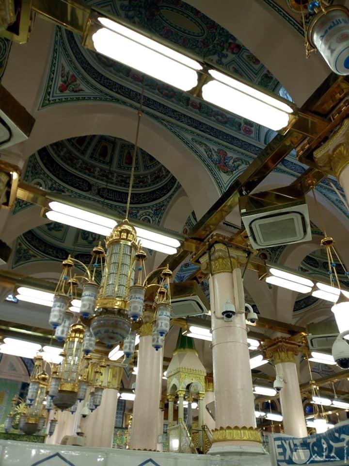 صورة لنجف المسجد النبوي