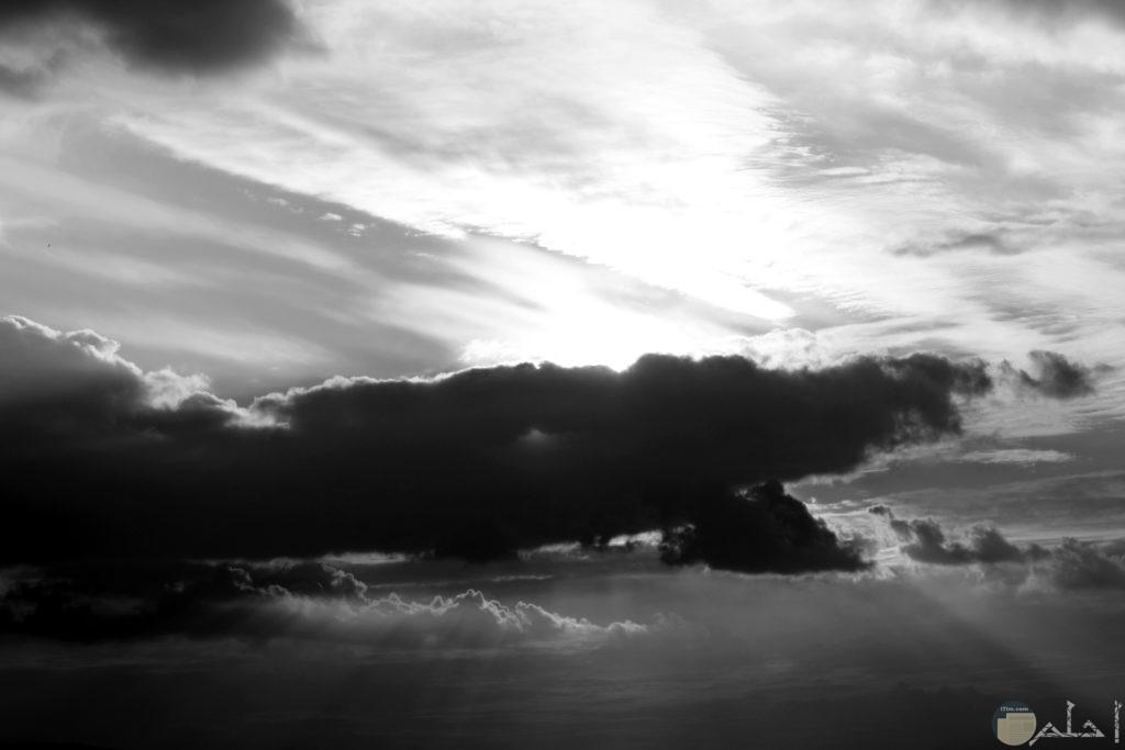 صورة رائعة لسماء والسحاب