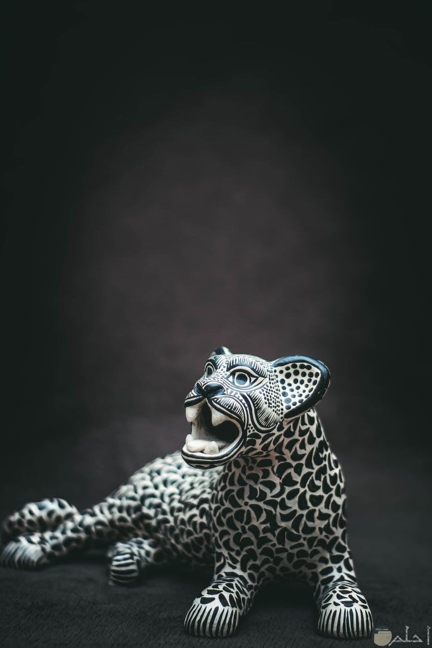 صوره تمثال نمر
