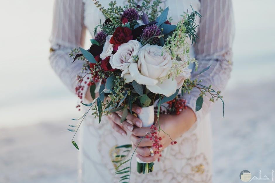 جمال الخطوبة مع بوكية الورد