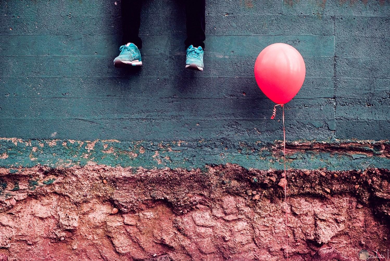 صور بالونة حمراء