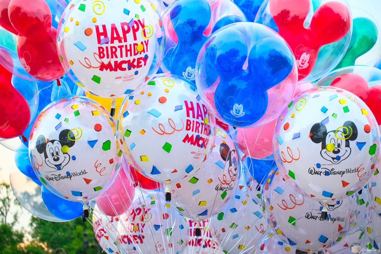 صور بالونات جميلة عليها ميكي ماوس