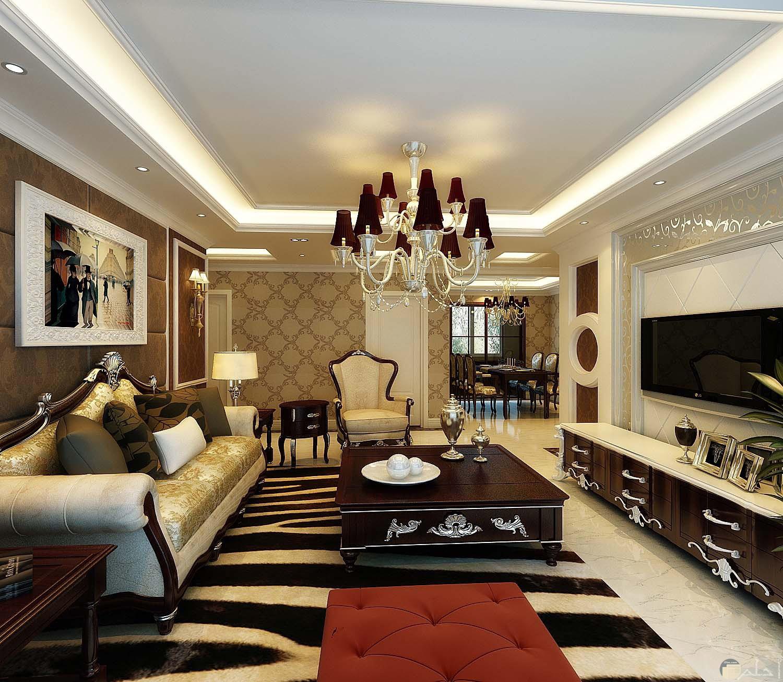 ديكور حائط رائع لغرف المعيشة والصالون
