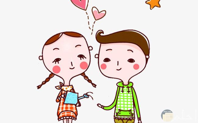 رسوم حب جميلة