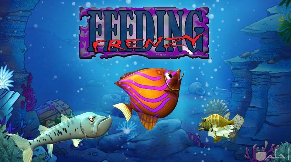 صورة من لعبة السمكة فرنزى الشقية