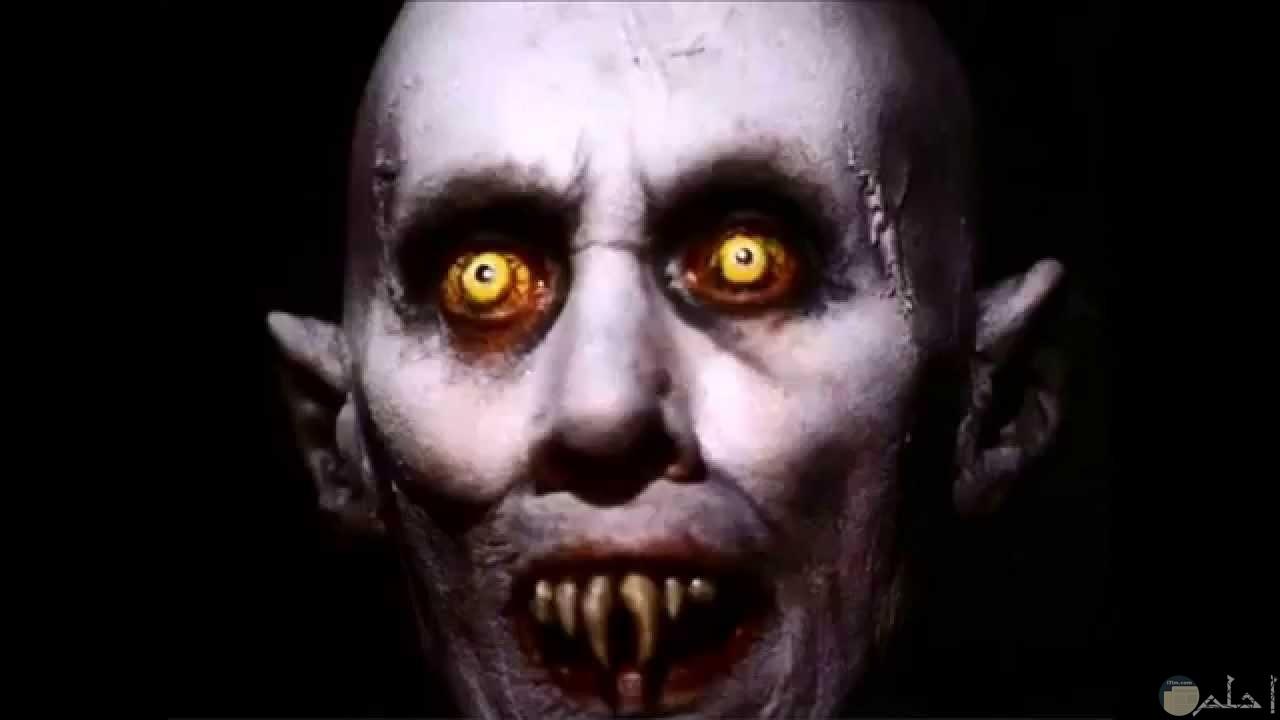صورة وجه مرعب