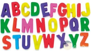 صور حروف إنجليزي