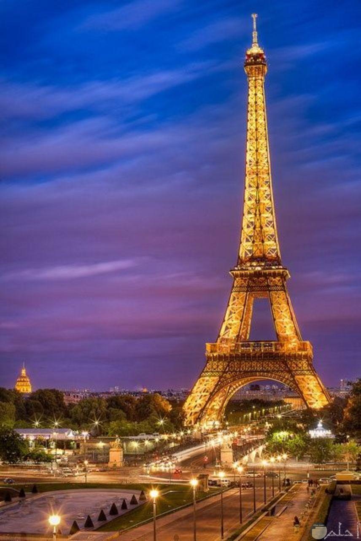 منظر طبيعي لبرج ايفل