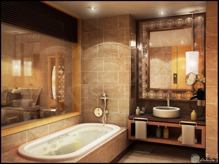 ديكورات حمامات فخمة
