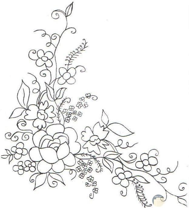 صور رسومات تطريز زهور ونباتات وأشكال مرحة لجميع الأذواق