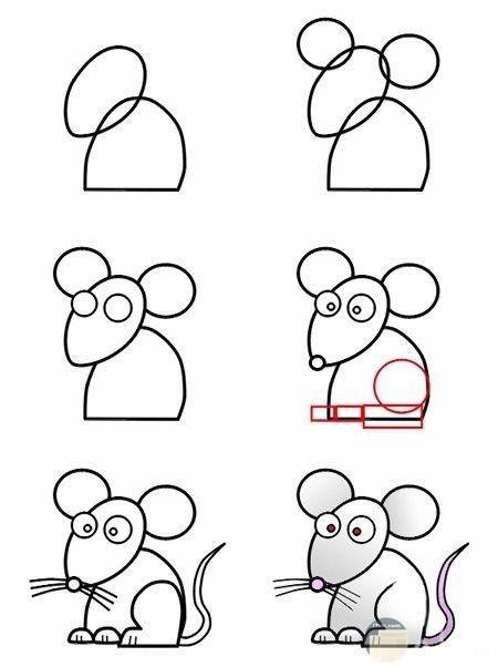 صور رسم حيوانات 6
