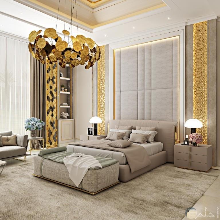 أجمل ديكورات النقاشة لغرف النوم