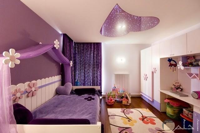 سقف غرفة نوم قلب موف