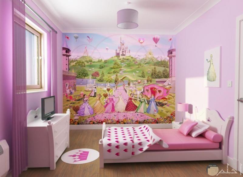 رسمة مميزة لغرف الأطفال