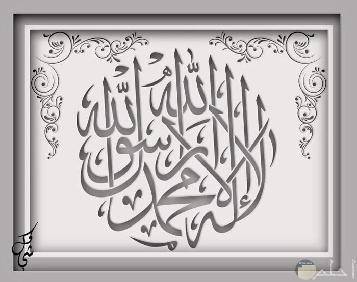 لا اله الا الله محمدا رسول الله
