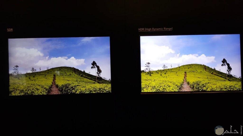 توكنولوجيا hd و جودة الصورة.