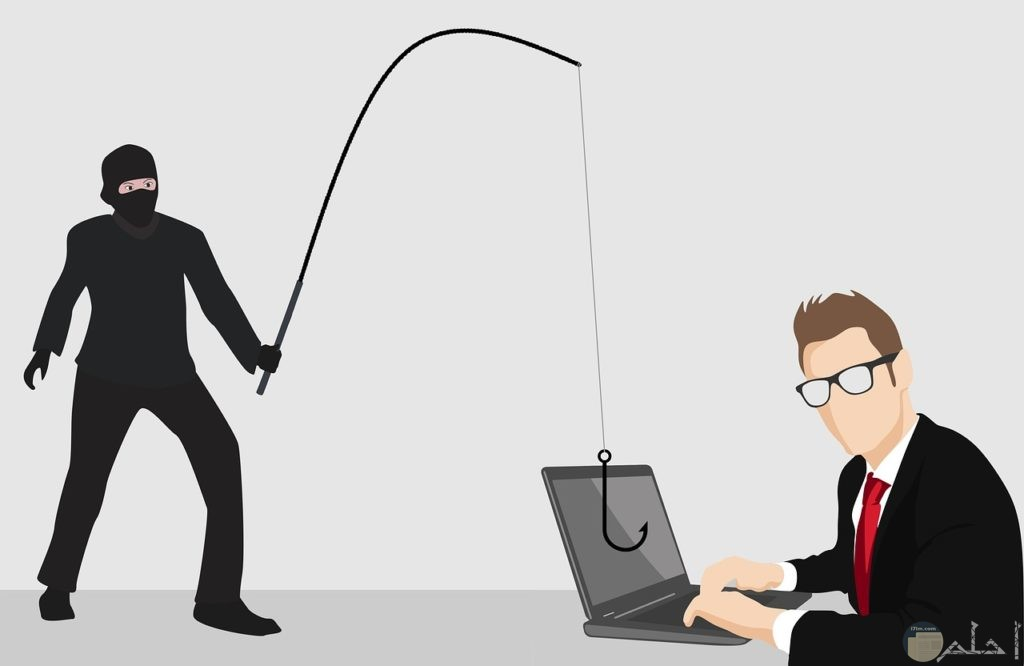 يستخدم البعض التكنولوجيا في السرقة و الأعمال الخارجة عن القانون.