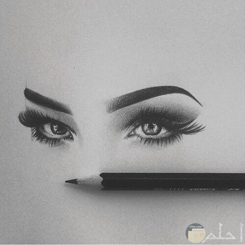 أجمل عيون مرسومة